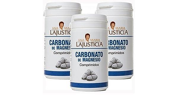 1226 CARBONATO DE MAGNESIO 750 mg. 2 x 75 Comprimidos Ana María LaJusticia: Amazon.es: Salud y cuidado personal