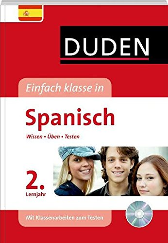 Duden Einfach klasse in Spanisch 2. Lernjahr: Wissen - Üben - Testen