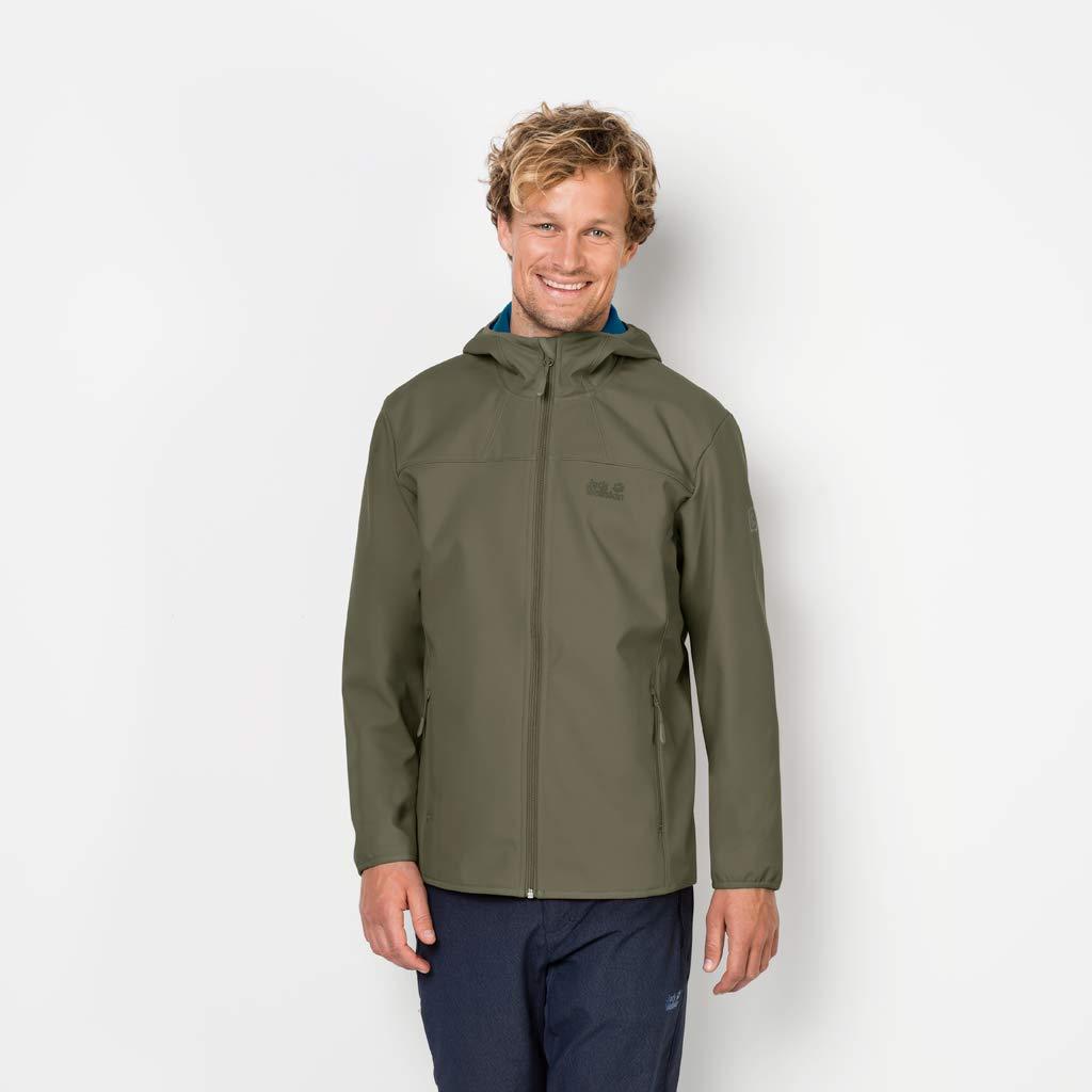 Jack Wolfskin Mens Northern Pt Windproof Softshell Jacket