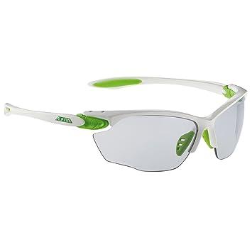ALPINA Twist Four VL+ Lunettes de soleil de sport Blanc Fassung   White-Green  e49bf1391f72