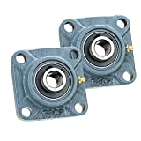 2x 2.25 in Square Flange Units Cast Iron