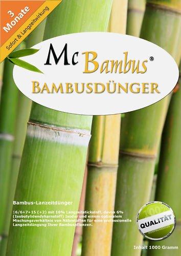 McBambus Bambus Dünger mit Langzeitwirkung (25 kg)