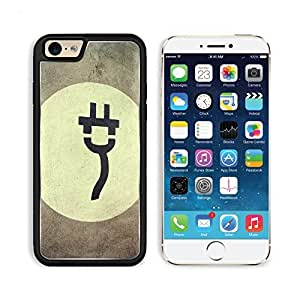 Electric Car That Needs To Be Recharged 3DCom iPhone 6 Cover Premium Aluminium Design TPU Case Open Ports Customized Made to Order by lolosakes