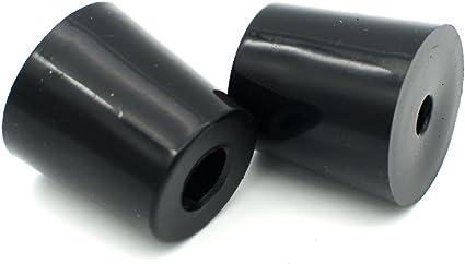 10Pcs Non-slip Rubber Feet Protector Pads Furniture Instrument Case Bumper ** WL