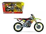 Suzuki Factory Racing RM-Z450 #7 James Stewart Dirt Bike Motorcycle Model 1/6 by New Ray