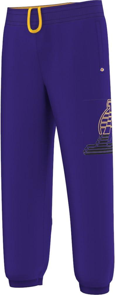 adidas LA Lakers Pantalones de chándal para Hombre, Color Violeta ...