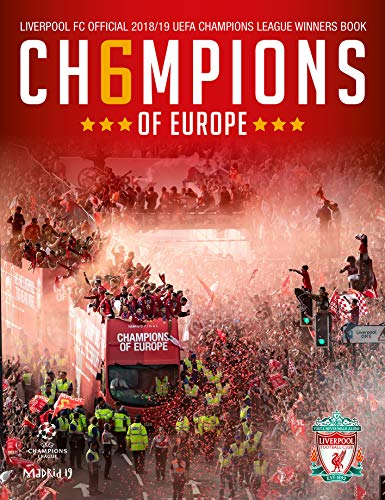LIVERPOOL FC: CH6MPIONS OF EUROPE: Official Winners Book por Liverpool Football Club