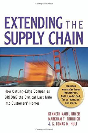 Amazon Com Extending The Supply Chain How Cutting Edge