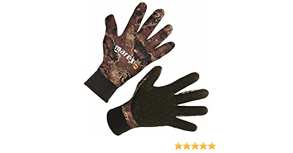 Mares Pure Instinct 3mm Neoprene Camouflage Camo Five Finger Gloves All Sizes Water Sports