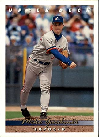 Amazoncom 1993 Upper Deck Baseball Card 640 Mike Gardiner