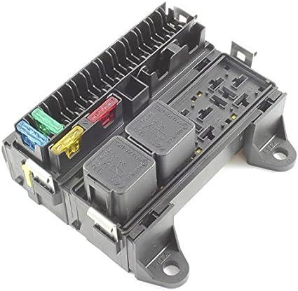 Caja de fusibles con 16 conectores y soporte de caja de relés con ...
