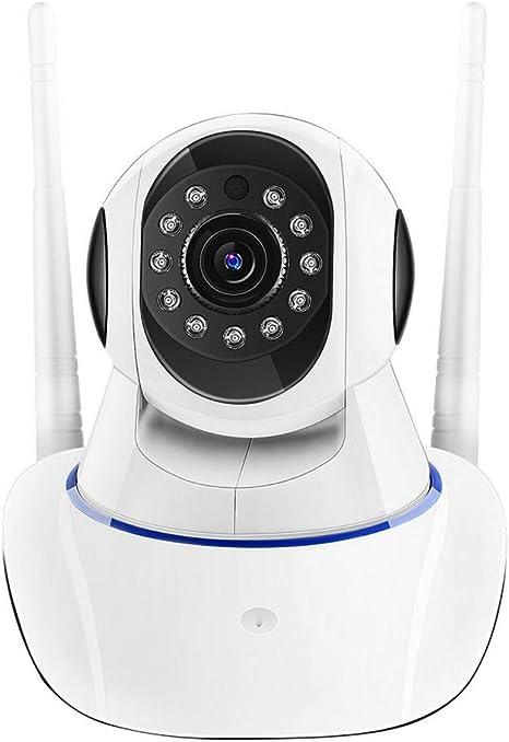 Cámara CCTV, Vigilancia 1080P HD WiFi De La Cámara Cámara De Seguridad Inicio De La Cámara IP De Red Inalámbrica Wi-Fi Vídeo,1080phd128gcard: Amazon.es: Deportes y aire libre