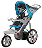 InStep Safari Single Swivel Stroller, Blue