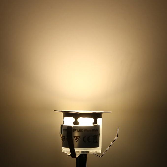 32mm Led Exterieur Lumières Docooler Luminaire Encastrable De 10pcs nk80OPXw