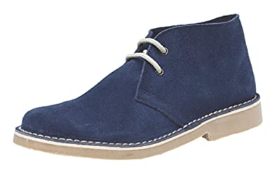 Roamers Classique Bottines Chukka En Daim  Amazon.fr  Chaussures et Sacs 933d40b7f9f6