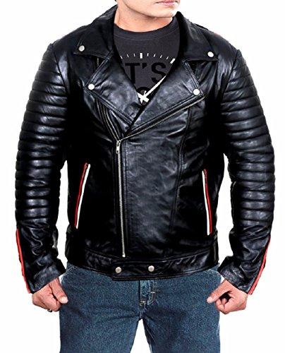 Blue Valentine Ryan Gosling Leather Jacket (3XL, - Jacket Gosling Valentine Ryan Blue