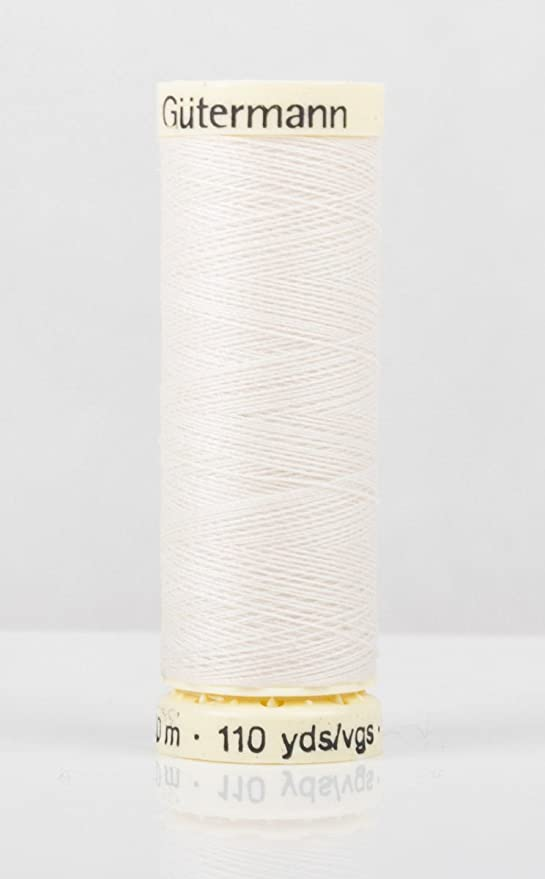 OFF WHITE Gutermann Sew-all Thread 500m Colour 1