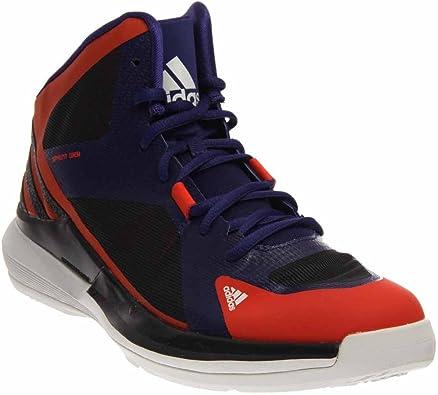Adidas Crazy Strike 3 Mens Basketball Shoes 12 Orange-Purple-Grey ...