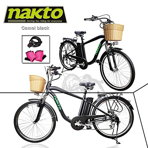 (NAKTO Adult Electric Bicycles 26