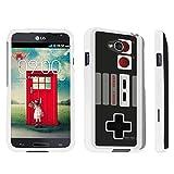 DuroCase ® LG Optimus L70 / LG Optimus Exceed 2 Hard Case White – (Game Controller)