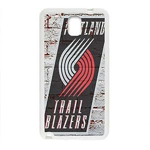 Portland Trail Blazers NBA White Phone Case for Samsung Galaxy Note3 Case
