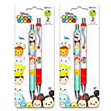 Disney Tsum Tsum Gel Pens Set - 4 Deluxe Tsum Tsum Pens with Comfort Grip (Tsum Tsum Office Supplies, School Supplies) (Tsum Tsum)