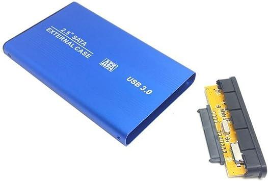 El SATA 22pin 7 + 15 de 2,5 pulgadas SSD a externo USB 3.0 Caja de ...