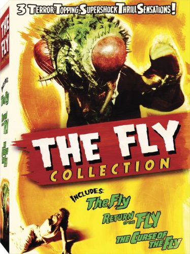 DVD : The Fly Collection (Gift Set, Widescreen, Sensormatic, 4 Disc)