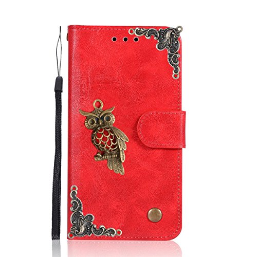 - Moto G5 Case,Gift_Source [Owl Series] [Wrist Strap] Vintage Wallet Phone Case Flip PU Leather Purse Folio Stand Feature Cover with ID&Credit Card Pockets for Motorola Moto G5 5.0