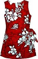 Amazon.com: White Hibiscus Hawaiian Dress - Girls Hawaiian Dress ...