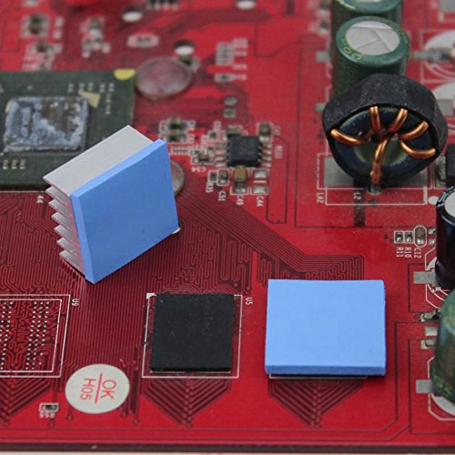 Wathai 36pcs 15x15x0.5mmThermal Conductive Silicone Pad by Wathai (Image #4)