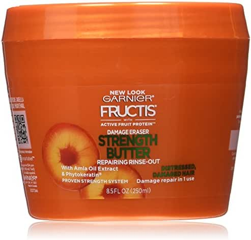 Hair Styling: Garnier Fructis Damage Eraser Strength Butter