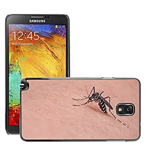 Etui Housse Coque de Protection Cover Rigide pour // M00113775 Mosquito Insecto Macro Bug Animal // Samsung Galaxy Note 3 III N9000 N9002 N9005