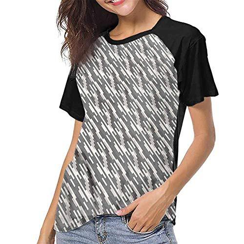 Men Print Tees,Abstract,Modern Squares Stripes S-XXL O Neck T Shirt Female Tee