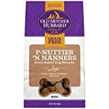 Old Mother Hubbard P-Nuttier 'N Nanners Grain Free Oven Baked Mini Dog Treats, Banana & Peanut Butter, 16-Ounce Bag For Sale