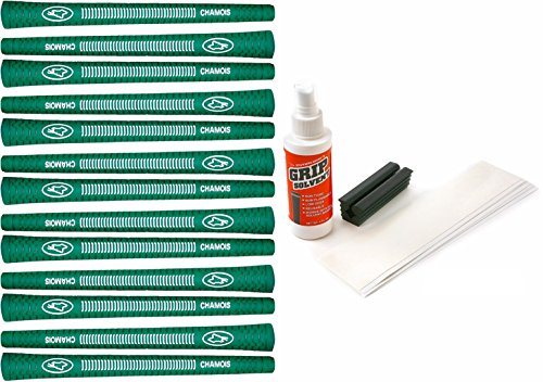Avon Chamois Green - 13 Piece Golf Grip Kit (with Tape, Solvent, Vise Clamp) (