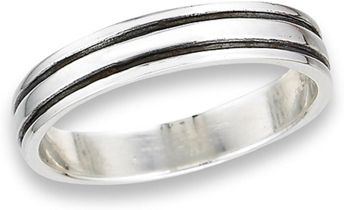 flat stack band \u2022 925 sterling silver ring \u2022 sterling silver band \u2022 minimalist band \u2022 minimalist ring \u2022 diamond cut band \u2022 rings for women