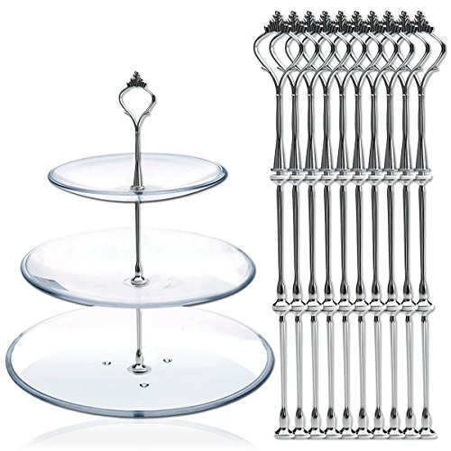 3 tier plate stand - 7