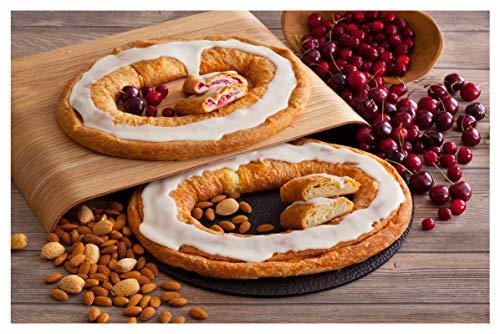 Danish Kringle Pair - Wisconsin & Almond (Best Kringle In Wisconsin)