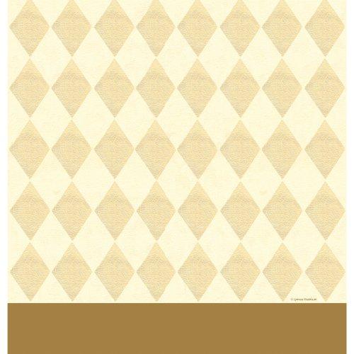 Ivory Border Print Dress - 5