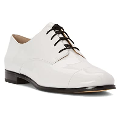 Womens Optic Oxfords, White Michael Kors