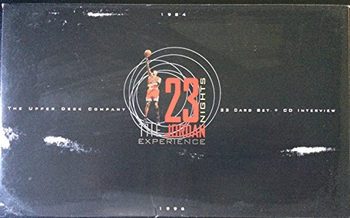1996 Upper Deck Basketball 'The 23 Nights Jordan Experience' Collector Set - 23C
