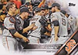 San Francisco Giants 2016 Topps MLB Baseball Regular Issue Complete Mint 33 Card Team Set with 2014 World Series Highlights, Buster Posey, Madison Bumgarner Plus