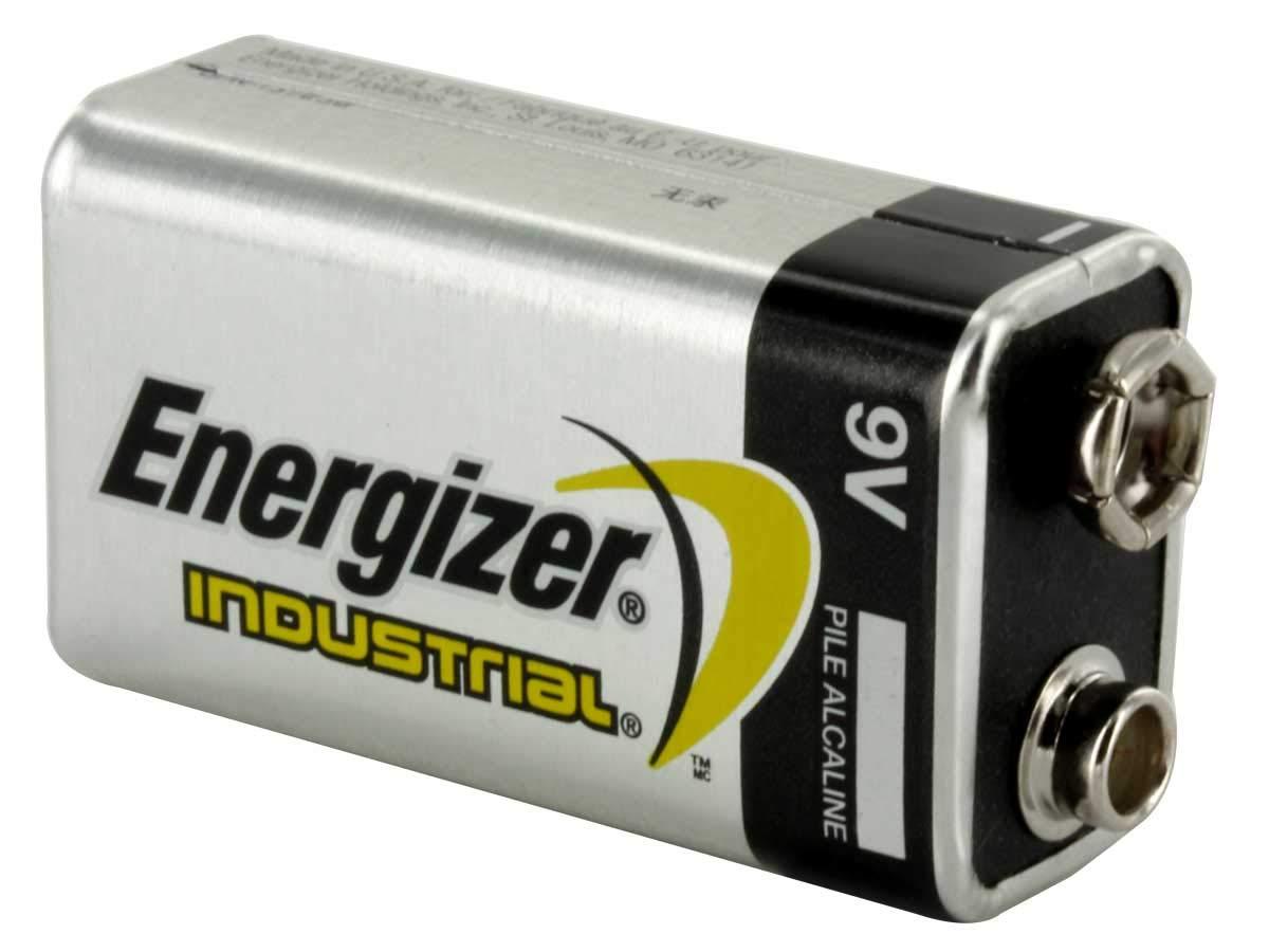 Energizer Industrial (EN22) 9 Volt Alkaline Batteries (20 Pack)