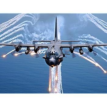 : US Air Force Poster AC 130H Spectre gunship Ac