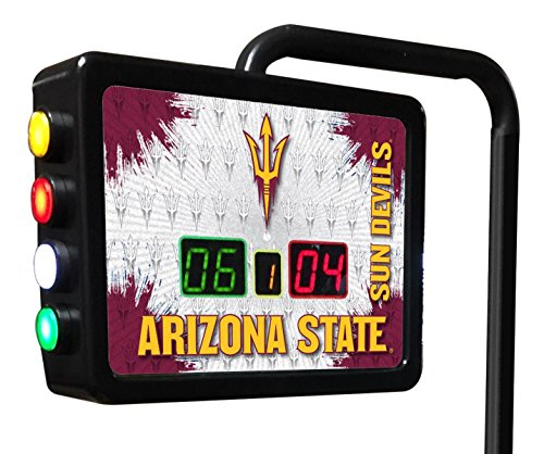 Arizona State Electronic Shuffleboard Scoring Unit - Officially Licensed with Pitchfork Logo