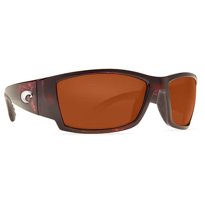 Costa del Mar Corbina Gafas de Sol polarizadas – Costa Lente de policarbonato 580 Tortoise/