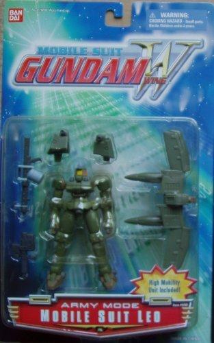 Bandai GUNDAM WING ARMY MODE MOBILE SUIT LEO MSIA
