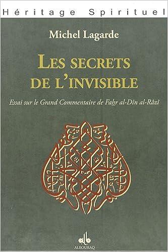 Amazon Fr Les Secrets De L Invisible Essai Sur Le Grand Commentaire De Fahr Al Din Al Razi Lagarde Michel Livres