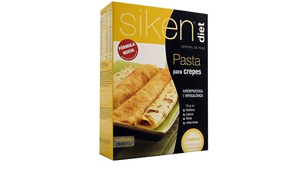 SIKENDIET Sikendiet Pasta Crepes 3 Sobres 200 g: Amazon.es ...